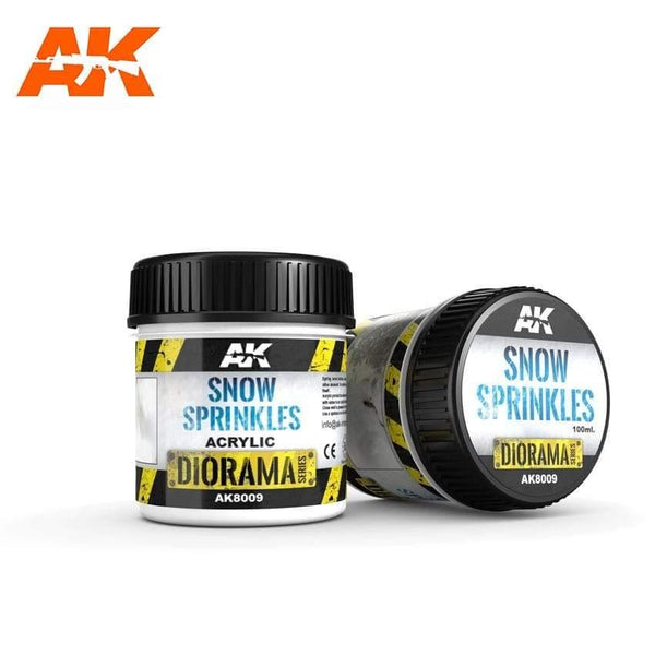 AK Interactive Snow Sprinkles 100ml (Acrylic) Diorama Effects - Hobby Heaven