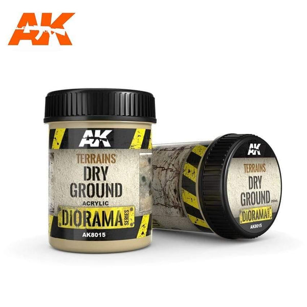 AK Interactive Dry Ground 250ml Diorama Effects - Hobby Heaven