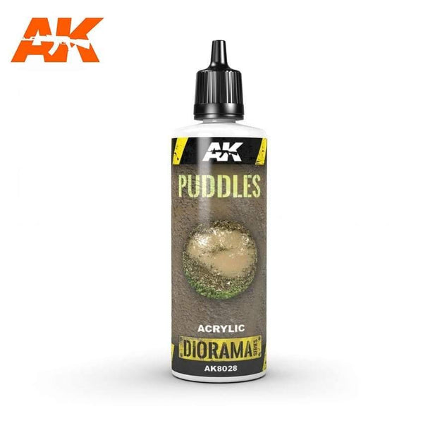 AK Interactive Puddles 60ml (Acrylic) Diorama Effects - Hobby Heaven