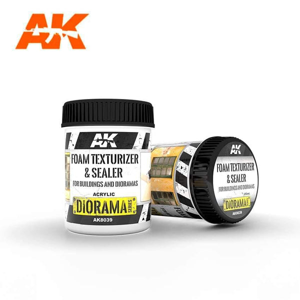 AK Interactive Foam Paste 250ml Diorama Effects - Hobby Heaven