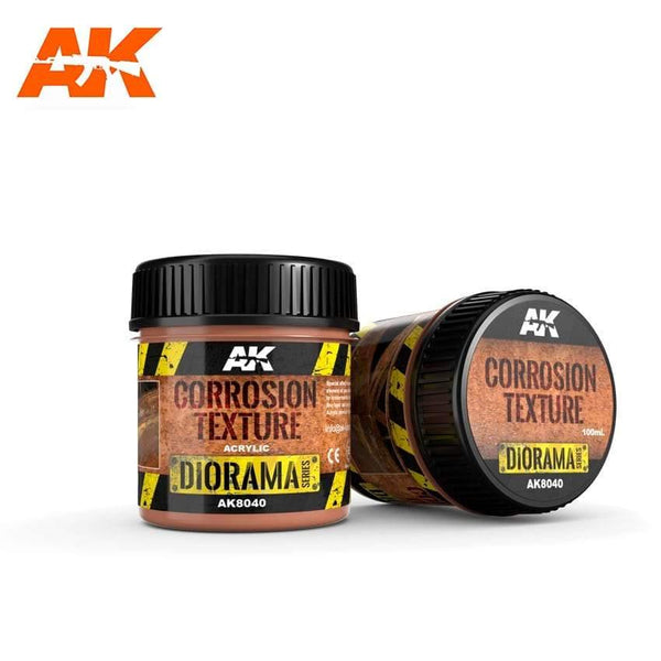 AK Interactive Corrosion Texture 100ml Diorama Effects - Hobby Heaven
