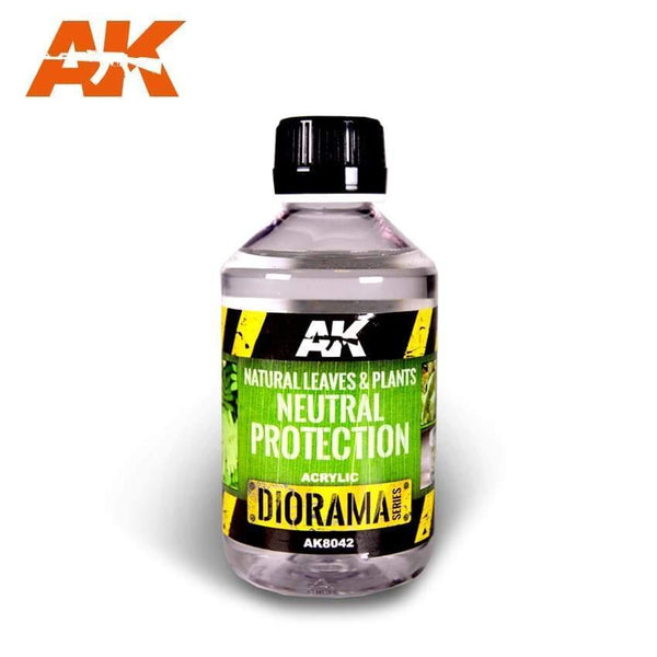 AK Interactive Natural Leaves and Plants Neutral Protection Diorama Effects - Hobby Heaven