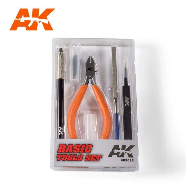 AK Interactive Basic Tools Set - Hobby Heaven