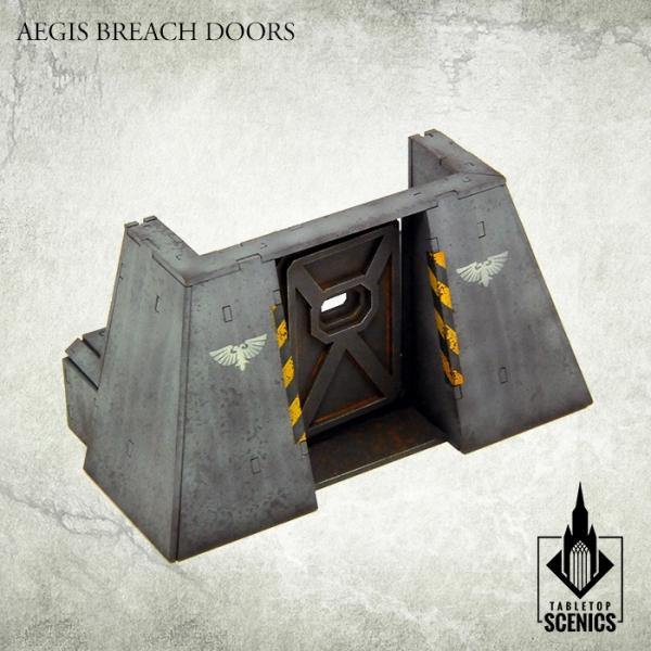 Tabletop Scenics Aegis Breach Doors KRTS118 - Hobby Heaven