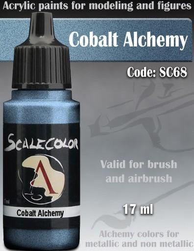 Scale75 Metal And Alchemy Cobalt Metal SC-68 - Hobby Heaven