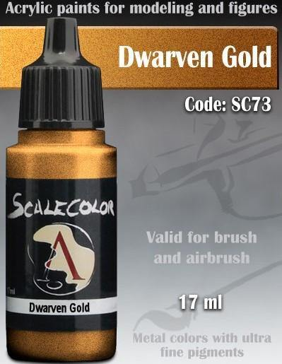 Scale75 Metal And Alchemy Dwarven Gold SC-73 - Hobby Heaven