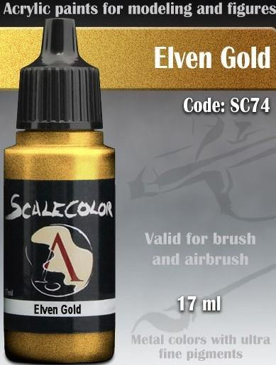 Scale75 Metal And Alchemy Elven Gold SC-74 - Hobby Heaven