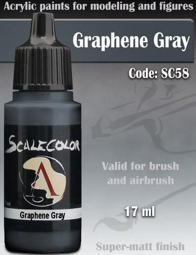 Scale75 Scalecolor Graphene Gray SC-58 - Hobby Heaven