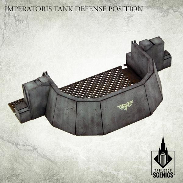 Tabletop Scenics Imperatoris Tank Defense Position KRTS112 - Hobby Heaven