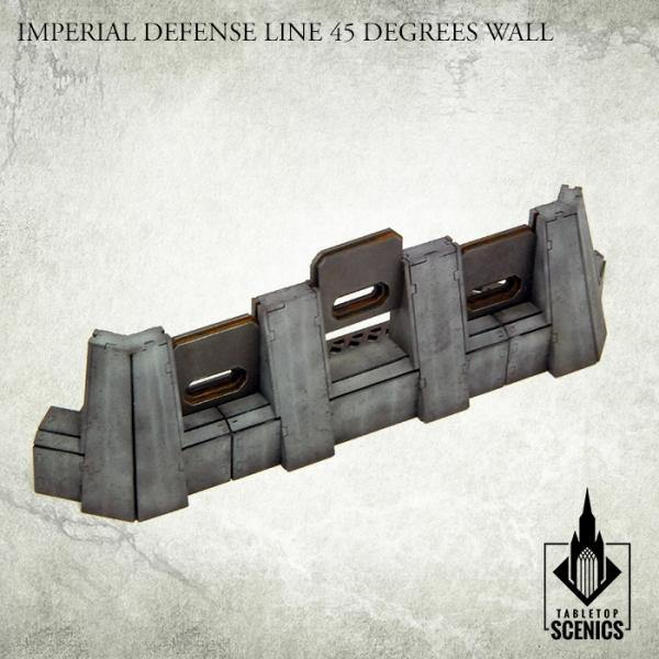 Tabletop Scenics Imperial Defense Line 45 degrees Wall KRTS123 - Hobby Heaven