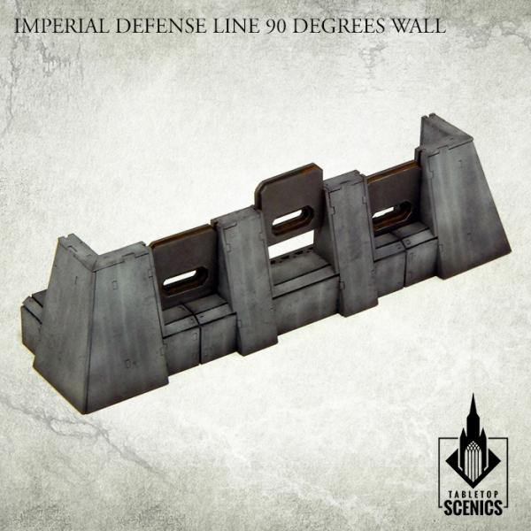 Tabletop Scenics Imperial Defense Line 90 degrees Wall KRTS121 - Hobby Heaven