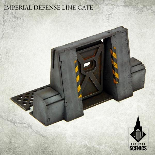 Tabletop Scenics Imperial Defense Line Gate KRTS119 - Hobby Heaven