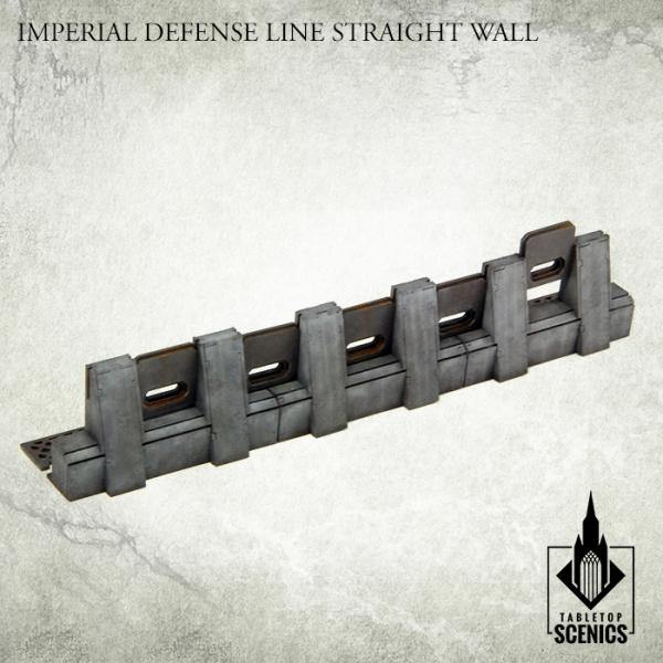 Tabletop Scenics Imperial Defense Line Straight Wall KRTS120 - Hobby Heaven