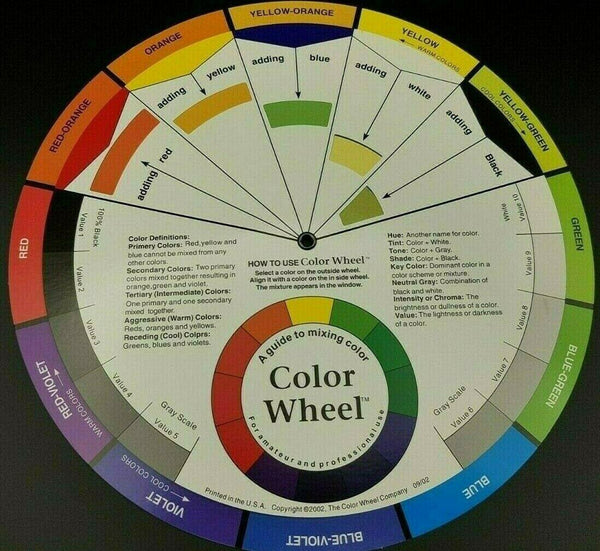 Colour Wheel - Hobby Heaven