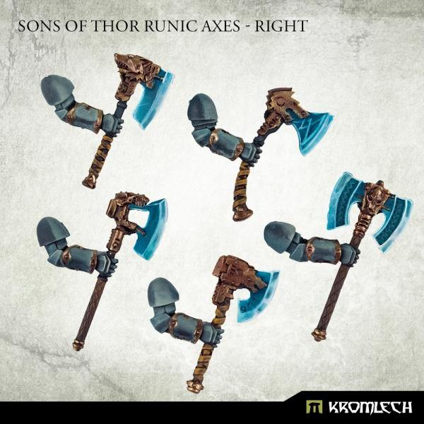 Kromlech Sons of Thor Runic Axes - Right (5) KRCB283 - Hobby Heaven