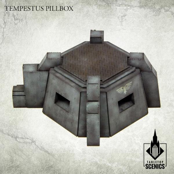 Tabletop Scenics Tempestus Pillbox KRTS115 - Hobby Heaven