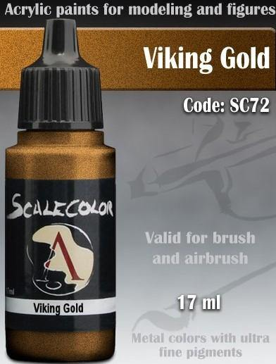Scale75 Metal And Alchemy Viking Gold SC-72 - Hobby Heaven