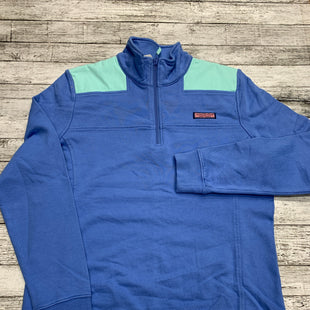 Primary Photo - BRAND: VINEYARD VINES STYLE: TOP LONG SLEEVE COLOR: BLUE GREEN SIZE: M SKU: 126-3003-11437