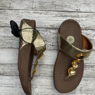 Primary Photo - BRAND: FITFLOP STYLE: SANDALS COLOR: GOLD SIZE: 6 SKU: 126-3290-77730