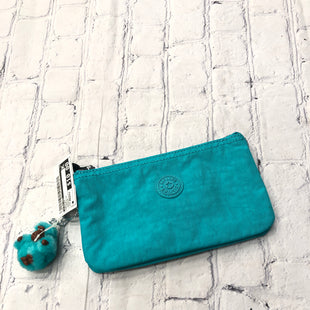 Primary Photo - BRAND: KIPLING STYLE: WALLET COLOR: TURQUOISE SIZE: MEDIUM SKU: 126-5001-1854COMES WITH FAYE THE MONKEY KEYCHAIN