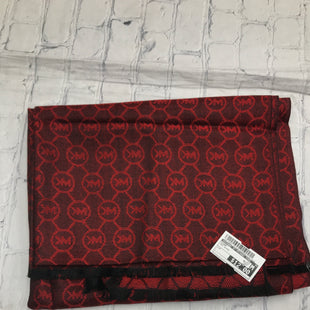 Primary Photo - BRAND: MICHAEL BY MICHAEL KORS STYLE: SCARF COLOR: RED BLACK SKU: 126-4493-1913