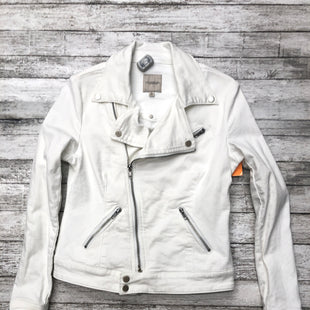 Primary Photo - BRAND:   CMC STYLE: DENIM JACKET COLOR: DENIM WHITE SIZE: XS OTHER INFO: LIVERPOOL - SKU: 126-2092-169467