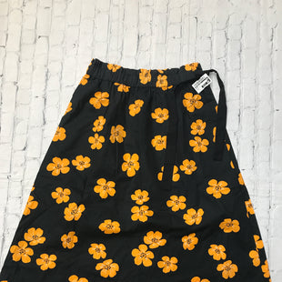 Primary Photo - BRAND: WHO WHAT WEAR STYLE: SKIRT COLOR: ORANGE BLACK SIZE: M SKU: 126-1881-68299