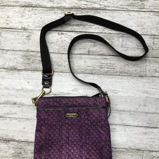 Primary Photo - BRAND: COACH O STYLE: HANDBAG DESIGNER COLOR: PURPLE SIZE: SMALL SKU: 126-1881-59555