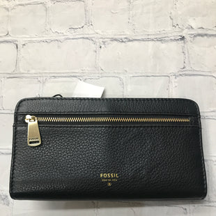 Primary Photo - BRAND: FOSSIL STYLE: WALLET COLOR: BLACK SIZE: MEDIUM SKU: 126-2092-184368