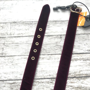 Primary Photo - BRAND: ANN TAYLOR STYLE: BELT COLOR: BURGUNDY SIZE: M SKU: 126-2092-168976