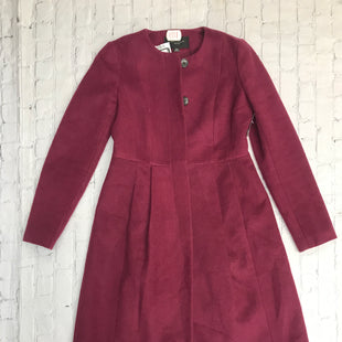Primary Photo - BRAND: ANN TAYLOR STYLE: COAT LONG COLOR: MAROON SIZE: 0 SKU: 126-5001-2366