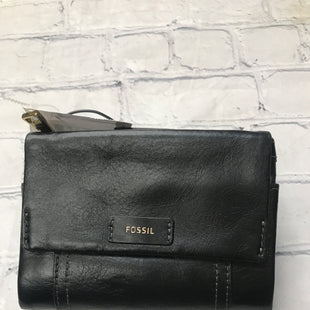 Primary Photo - BRAND: FOSSIL STYLE: WALLET COLOR: BLACK SIZE: SMALL SKU: 126-2092-184369