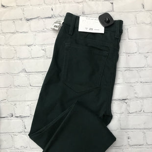Primary Photo - BRAND: ANN TAYLOR LOFT STYLE: ANKLE PANT COLOR: GREEN SIZE: 0 OTHER INFO: NEW! SKU: 126-2057-26933