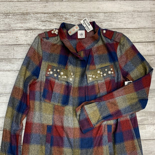 Primary Photo - BRAND: CABI STYLE: JACKET OUTDOOR COLOR: PLAID SIZE: M SKU: 126-3003-9893