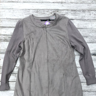 Primary Photo - BRAND:   CMC STYLE: JACKET OUTDOOR COLOR: GREY SIZE: 10 OTHER INFO: H BY HALSTON - SKU: 126-2057-2438