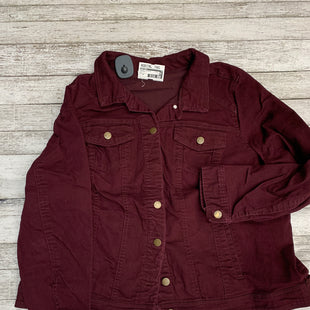Primary Photo - BRAND: WESTPORT STYLE: JACKET OUTDOOR COLOR: BURGUNDY SIZE: 2X SKU: 126-4431-8823