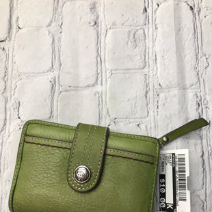 Primary Photo - BRAND: FOSSIL STYLE: WALLET COLOR: GREEN SIZE: MEDIUM SKU: 126-5001-1867