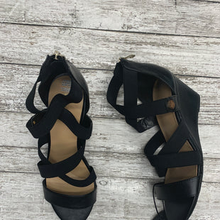 Primary Photo - BRAND: LIZ CLAIBORNE STYLE: SANDALS HIGH COLOR: BLACK SIZE: 7.5 SKU: 126-4845-162