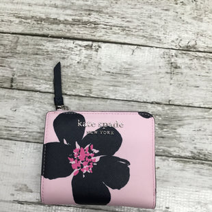 Primary Photo - BRAND: KATE SPADE STYLE: WALLET COLOR: PINKBLACK SIZE: SMALL OTHER INFO: NEW! RT$129 SKU: 126-3290-77324