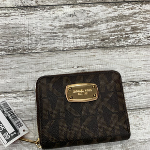 Primary Photo - BRAND: MICHAEL KORS STYLE: WALLET COLOR: BROWN SIZE: MEDIUM SKU: 126-2092-177047