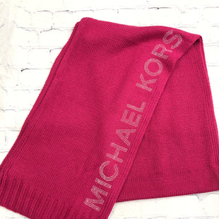 Primary Photo - BRAND: MICHAEL BY MICHAEL KORS STYLE: SCARF WINTER COLOR: PINK SKU: 126-3290-81629