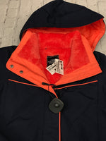 Photo #1 - brand: northface , style: coat short , color: orange blue , size: m , sku: 126-1881-68101