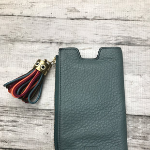 Primary Photo - BRAND: FOSSIL STYLE: WALLET COLOR: BLUE SIZE: SMALL OTHER INFO: PHONE HOLDER SKU: 126-3290-81371