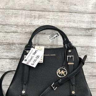 Primary Photo - BRAND: MICHAEL BY MICHAEL KORS STYLE: HANDBAG DESIGNER COLOR: BLACK SIZE: MEDIUM OTHER INFO: NEW! RT$358 SKU: 126-3290-79572