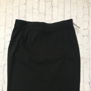 Primary Photo - BRAND: EILEEN FISHER STYLE: SKIRT COLOR: BLACK SIZE: XL SKU: 126-4493-1698