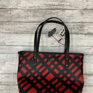 Primary Photo - BRAND: COACH STYLE: HANDBAG DESIGNER COLOR: RED BLACK SIZE: MEDIUM SKU: 126-2092-172153