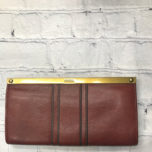 Primary Photo - BRAND: FOSSIL STYLE: WALLET COLOR: BROWN SIZE: MEDIUM SKU: 126-2092-184367