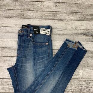 Primary Photo - BRAND: EXPRESS STYLE: ANKLE PANT COLOR: DENIM SIZE: 0 OTHER INFO: NEW! SKU: 126-1881-52967