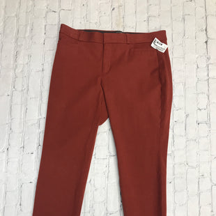 Primary Photo - BRAND: BANANA REPUBLIC STYLE: ANKLE PANT COLOR: RUST SIZE: 8 SKU: 126-2092-177827
