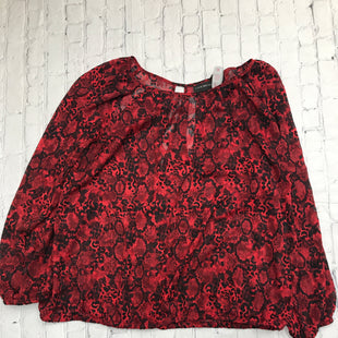 Primary Photo - BRAND: LANE BRYANT STYLE: TOP LONG SLEEVE COLOR: ANIMAL PRINT SIZE: 1X SKU: 126-5001-1694